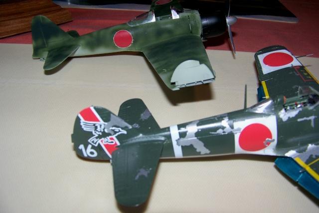 Nakajima Ki 84 疾風 Hayate (Hasegawa 1/48 Fini) Sept 1993 100_7409