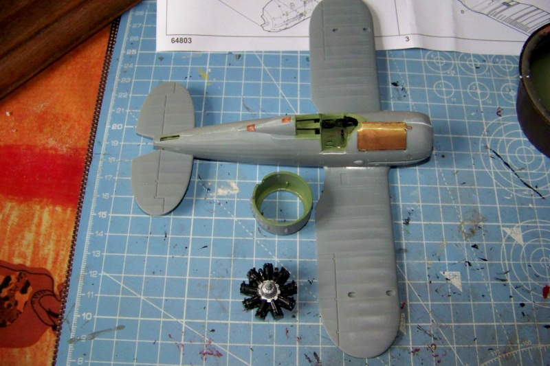 "Fil rouge 2020 : Gloster Gladiator MKI .Jagevingen (Merit 1/48) "" Ferdig "" Fini - Page 2 100_7418"