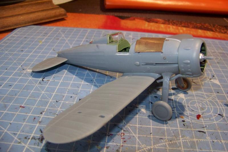 "Fil rouge 2020 : Gloster Gladiator MKI .Jagevingen (Merit 1/48) "" Ferdig "" Fini - Page 2 100_7424"