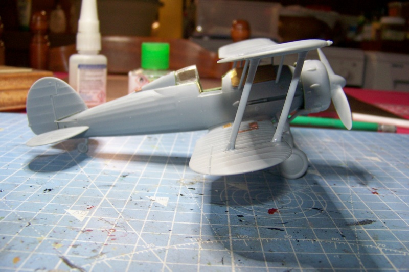 "Fil rouge 2020 : Gloster Gladiator MKI .Jagevingen (Merit 1/48) "" Ferdig "" Fini - Page 3 100_7430"