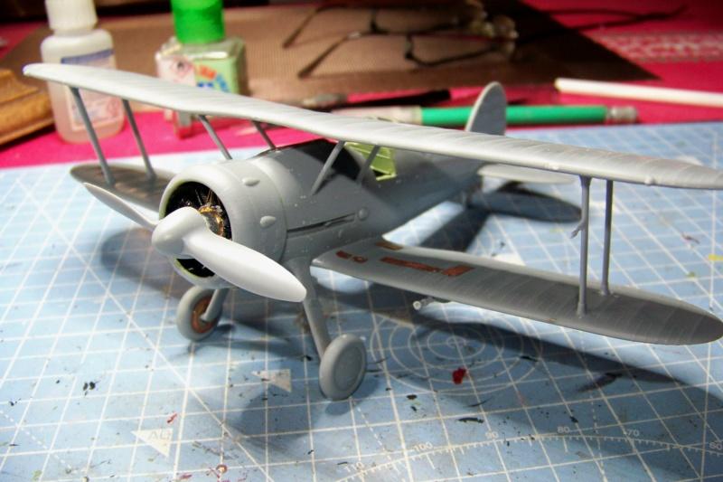 "Fil rouge 2020 : Gloster Gladiator MKI .Jagevingen (Merit 1/48) "" Ferdig "" Fini - Page 3 100_7432"