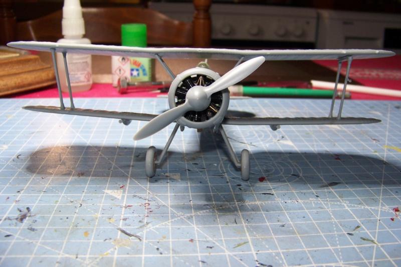 "Fil rouge 2020 : Gloster Gladiator MKI .Jagevingen (Merit 1/48) "" Ferdig "" Fini - Page 3 100_7434"