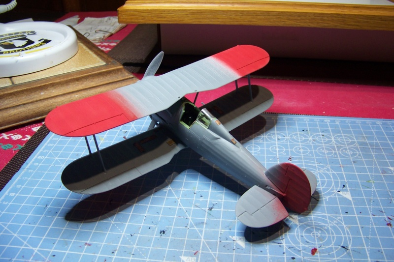 "Fil rouge 2020 : Gloster Gladiator MKI .Jagevingen (Merit 1/48) "" Ferdig "" Fini - Page 3 100_7492"