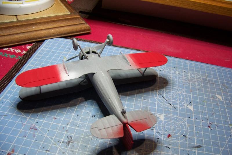"Fil rouge 2020 : Gloster Gladiator MKI .Jagevingen (Merit 1/48) "" Ferdig "" Fini - Page 3 100_7493"