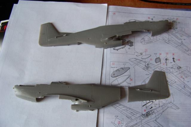 P-51D5 ICM 1/48  Lieutenant Charles H. SIMONSON, 356 FSq / 354 FGr (2013)FINI 100_7499