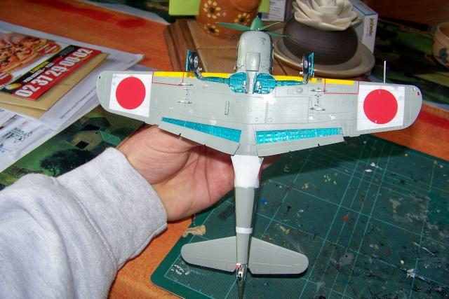 Nakajima Ki 84 疾風 Hayate (Hasegawa 1/48 Fini) Sept 1993 100_7500