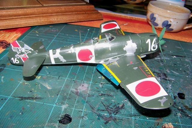 Nakajima Ki 84 疾風 Hayate (Hasegawa 1/48 Fini) Sept 1993 100_7501