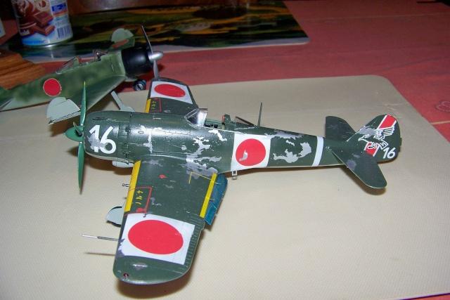 Nakajima Ki 84 疾風 Hayate (Hasegawa 1/48 Fini) Sept 1993 100_7502
