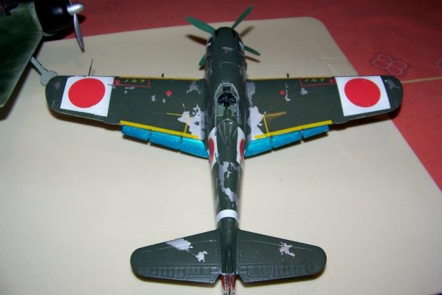 Nakajima Ki 84 疾風 Hayate (Hasegawa 1/48 Fini) Sept 1993 100_7503