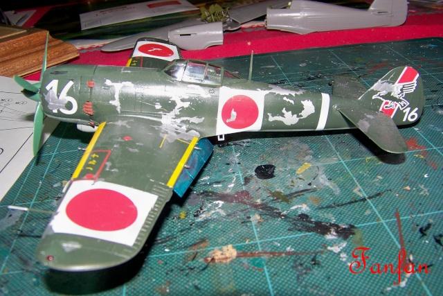 Nakajima Ki 84 疾風 Hayate (Hasegawa 1/48 Fini) Sept 1993 100_7504