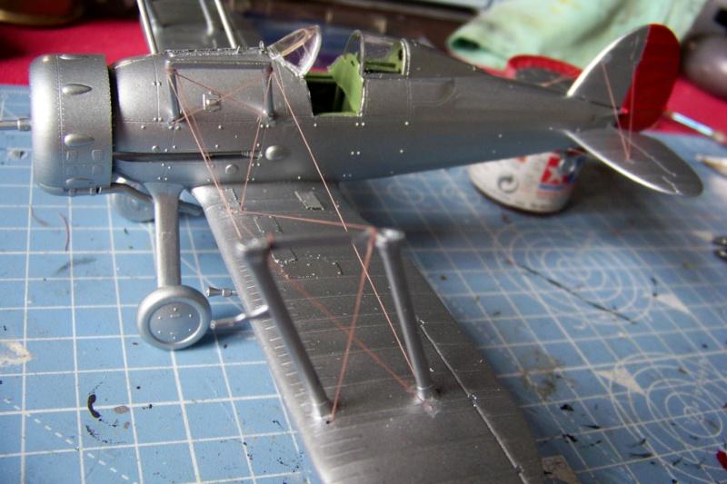 "Fil rouge 2020 : Gloster Gladiator MKI .Jagevingen (Merit 1/48) "" Ferdig "" Fini - Page 3 100_7530"