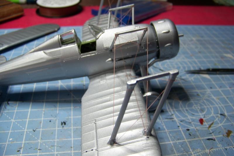 "Fil rouge 2020 : Gloster Gladiator MKI Jagevingen (Merit 1/48) ""Ferdig"" *** Terminé en pg 5 - Page 4 100_7534"