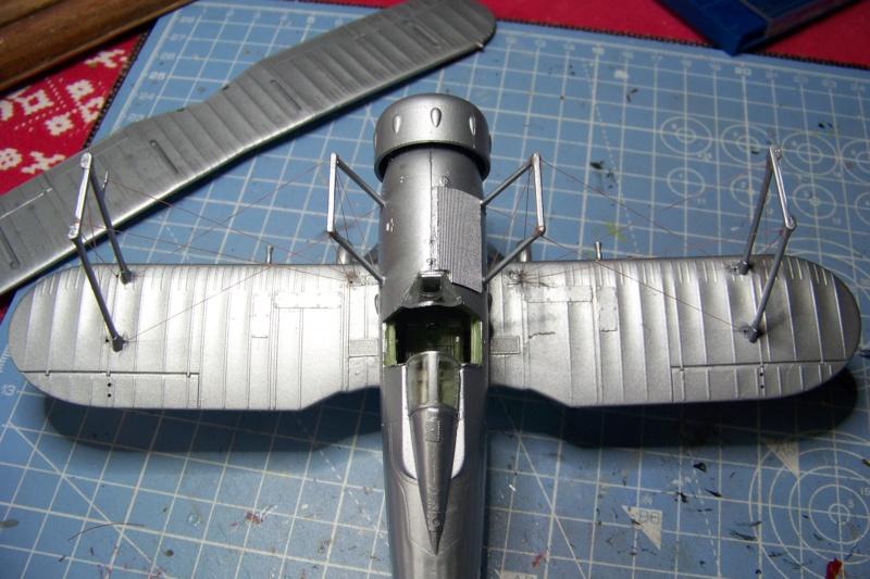 "Fil rouge 2020 : Gloster Gladiator MKI Jagevingen (Merit 1/48) ""Ferdig"" *** Terminé en pg 5 - Page 4 100_7536"