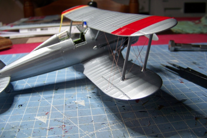 "Fil rouge 2020 : Gloster Gladiator MKI Jagevingen (Merit 1/48) ""Ferdig"" *** Terminé en pg 5 - Page 4 100_7537"