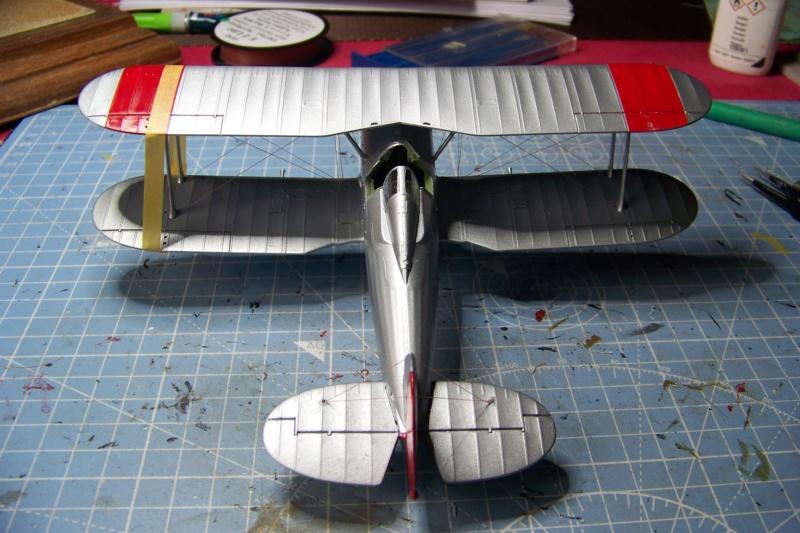 "Fil rouge 2020 : Gloster Gladiator MKI Jagevingen (Merit 1/48) ""Ferdig"" *** Terminé en pg 5 - Page 4 100_7538"