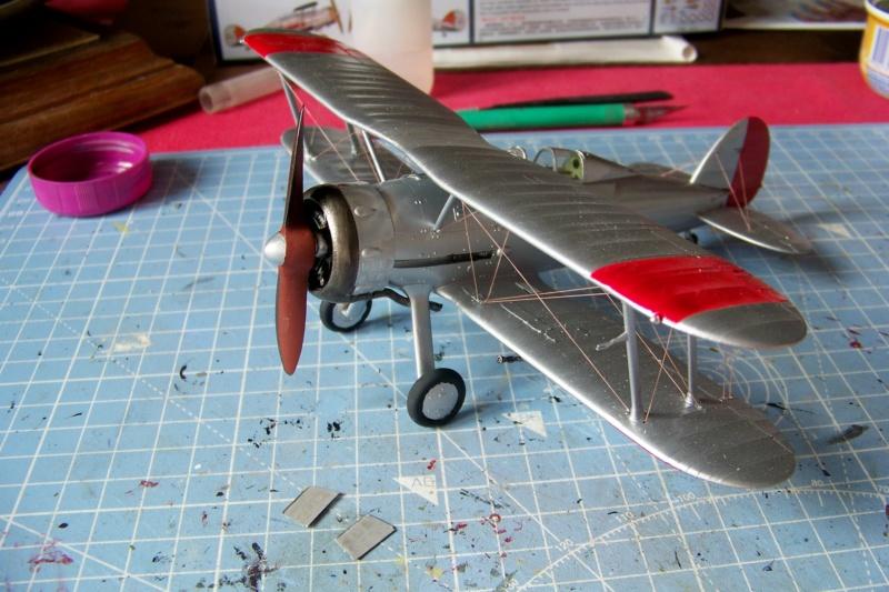 "Fil rouge 2020 : Gloster Gladiator MKI Jagevingen (Merit 1/48) ""Ferdig"" *** Terminé en pg 5 - Page 4 100_7547"