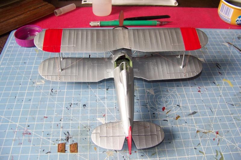 "Fil rouge 2020 : Gloster Gladiator MKI Jagevingen (Merit 1/48) ""Ferdig"" *** Terminé en pg 5 - Page 4 100_7551"