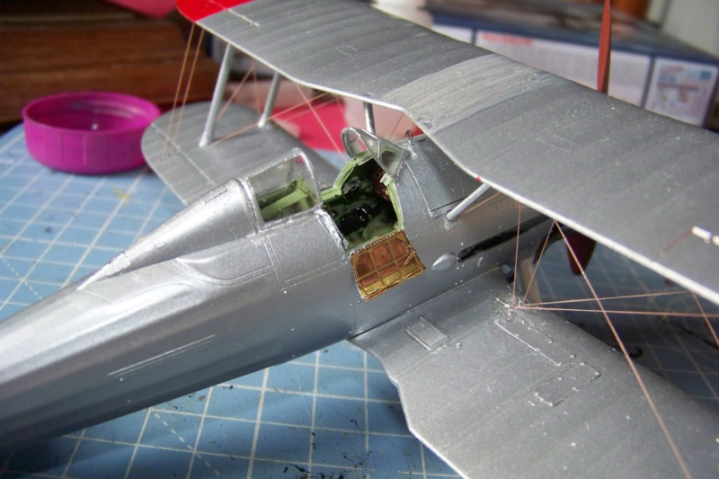 "Fil rouge 2020 : Gloster Gladiator MKI Jagevingen (Merit 1/48) ""Ferdig"" *** Terminé en pg 5 - Page 4 100_7552"