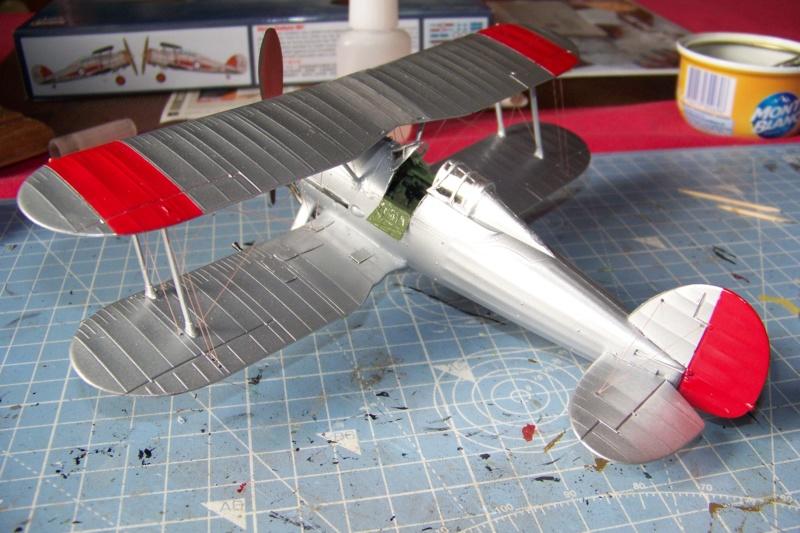 "Fil rouge 2020 : Gloster Gladiator MKI Jagevingen (Merit 1/48) ""Ferdig"" *** Terminé en pg 5 - Page 4 100_7554"
