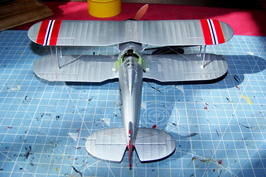 "Fil rouge 2020 : Gloster Gladiator MKI .Jagevingen (Merit 1/48) "" Ferdig "" Fini - Page 5 100_7585"