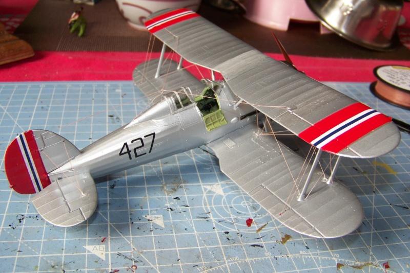 "Fil rouge 2020 : Gloster Gladiator MKI .Jagevingen (Merit 1/48) "" Ferdig "" Fini - Page 5 100_7610"