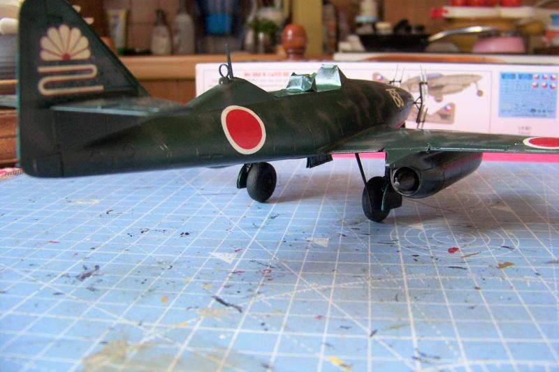 What If Nakajima Ki 201 Karyu ! 1/48 Fini 100_7628