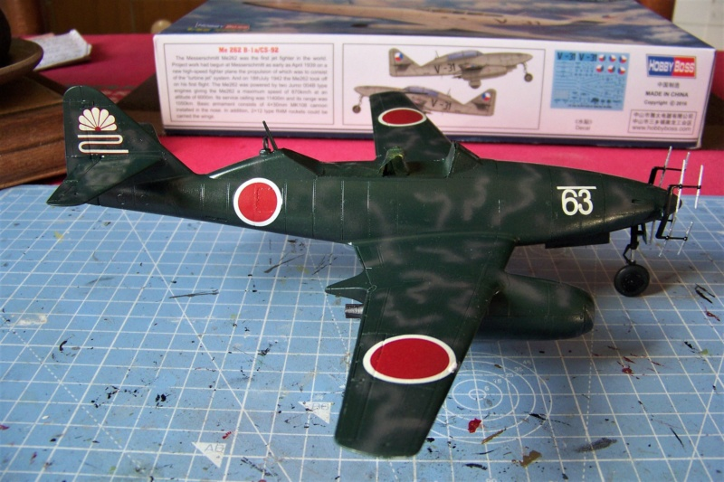 What If Nakajima Ki 201 Karyu ! 1/48 Fini 100_7629