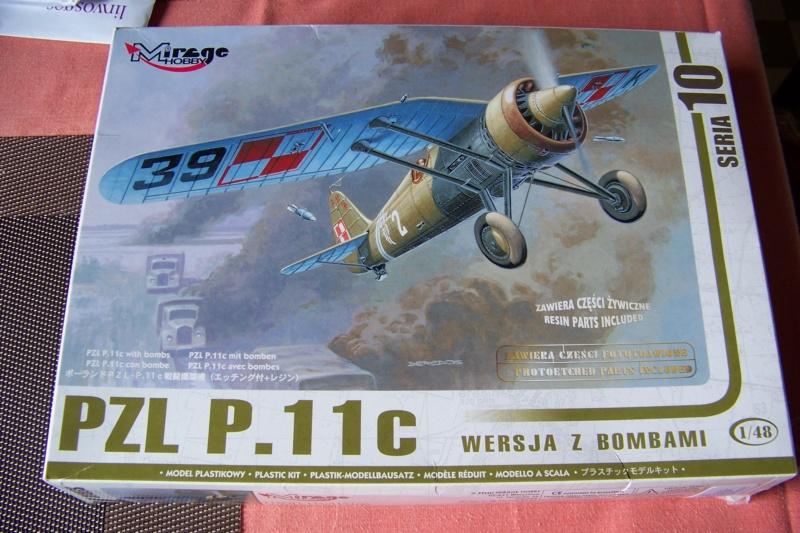 [MIRAGE] PZL P-11c .121 Eskadra Mysliwska, III/2 Pulk Lotniczy : Skończone Réf 48102  100_7725