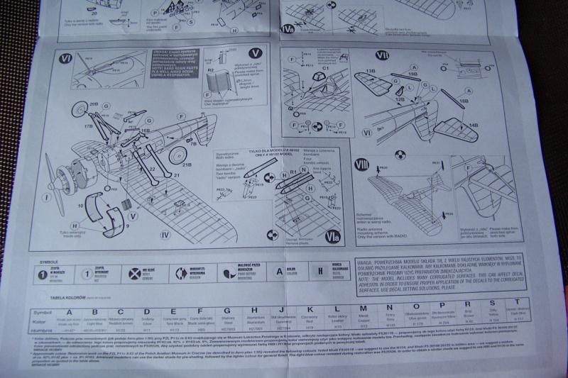 [MIRAGE] PZL P-11c .121 Eskadra Mysliwska, III/2 Pulk Lotniczy : Skończone Réf 48102  100_7727