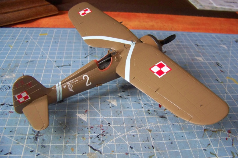 [MIRAGE] PZL P-11c .121 Eskadra Mysliwska, III/2 Pulk Lotniczy : Skończone 1/48ème Réf 48102 ( Fini ) - Page 3 100_7819