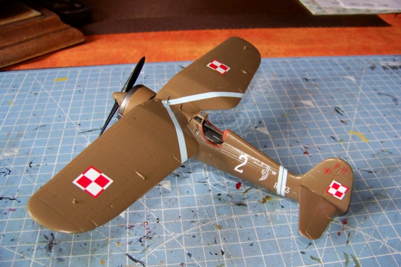 [MIRAGE] PZL P-11c .121 Eskadra Mysliwska, III/2 Pulk Lotniczy : Skończone 1/48ème Réf 48102 ( Fini ) - Page 3 100_7820