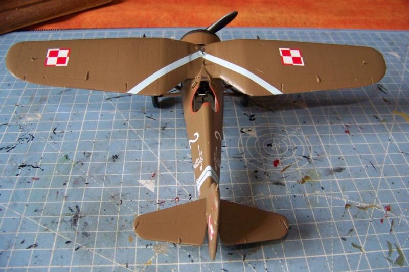 [MIRAGE] PZL P-11c .121 Eskadra Mysliwska, III/2 Pulk Lotniczy : Skończone 1/48ème Réf 48102 ( Fini ) - Page 3 100_7821
