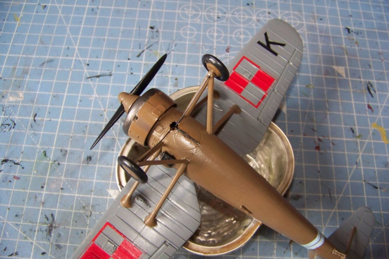 [MIRAGE] PZL P-11c .121 Eskadra Mysliwska, III/2 Pulk Lotniczy : Skończone 1/48ème Réf 48102 ( Fini ) - Page 3 100_7823