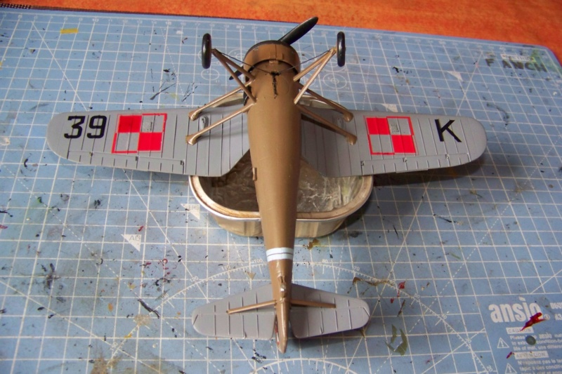 [MIRAGE] PZL P-11c .121 Eskadra Mysliwska, III/2 Pulk Lotniczy : Skończone 1/48ème Réf 48102 ( Fini ) - Page 3 100_7824