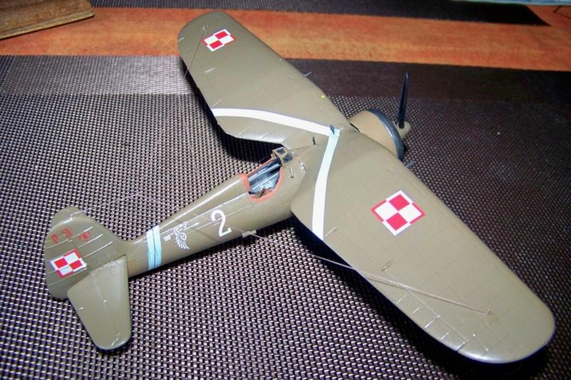 [MIRAGE] PZL P-11c .121 Eskadra Mysliwska, III/2 Pulk Lotniczy : Skończone 1/48ème Réf 48102 ( Fini ) - Page 3 100_7836