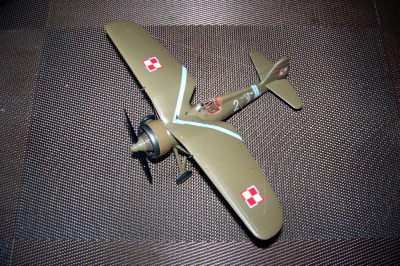 [MIRAGE] PZL P-11c .121 Eskadra Mysliwska, III/2 Pulk Lotniczy : Skończone 1/48ème Réf 48102 ( Fini ) - Page 3 100_7837