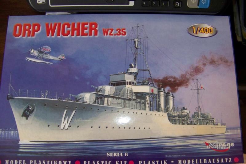 "Torpilleur 1455 t  "" Bourrasque "" ( Orp Wicher 1/400 Mirage) 100_7873"