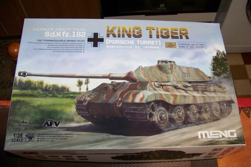 Sd.Kfz. 182 Panzer VI Ausf. B Porsche ( Meng 1/35) 100_8133
