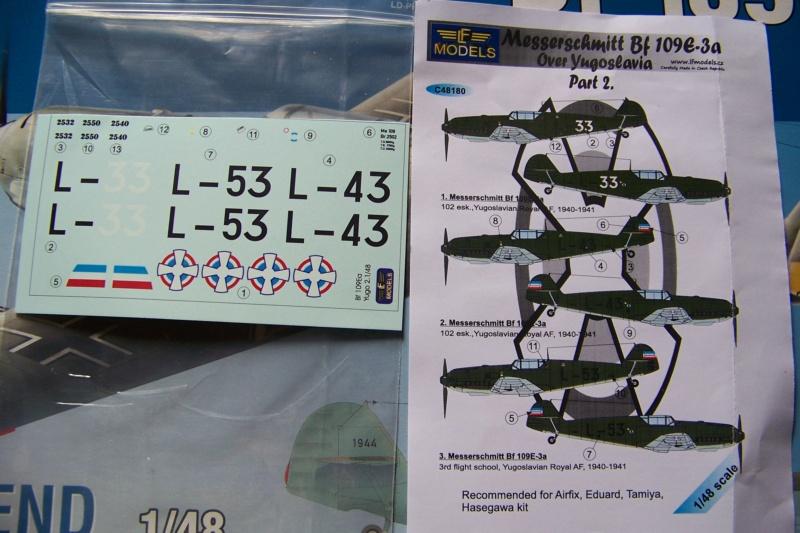 sur l' établi Bf 109 E3a 1/48 Eduard  Fini 100_8221
