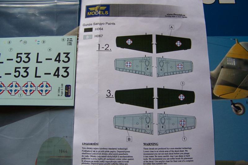 sur l' établi Bf 109 E3a 1/48 Eduard  Fini 100_8222