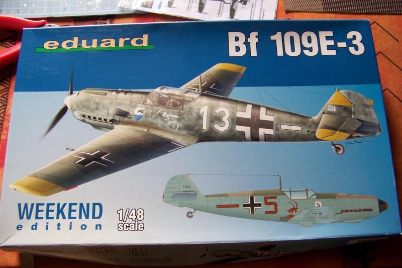 sur l' établi Bf 109 E3a 1/48 Eduard  Fini 100_8223
