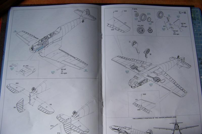 sur l' établi Bf 109 E3a 1/48 Eduard  Fini 100_8224