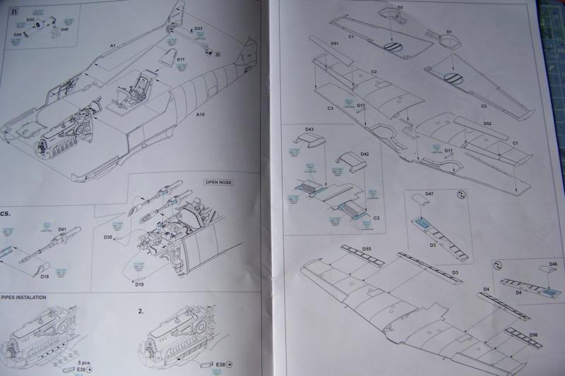 sur l' établi Bf 109 E3a 1/48 Eduard  Fini 100_8225