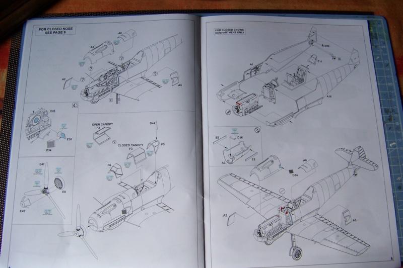 sur l' établi Bf 109 E3a 1/48 Eduard  Fini 100_8227