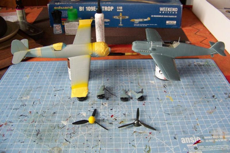 sur l' établi Bf 109 E3a 1/48 Eduard  Fini - Page 3 100_8335
