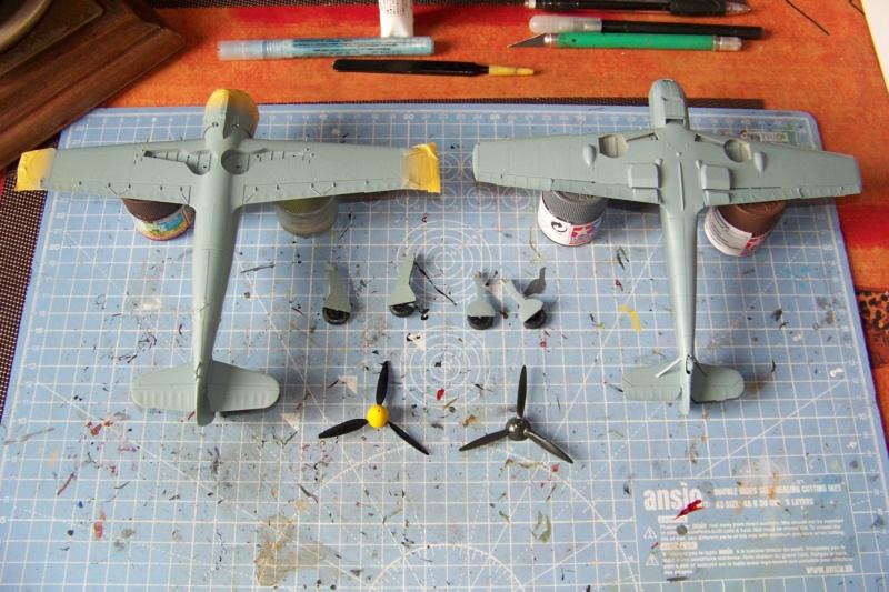 sur l' établi Bf 109 E3a 1/48 Eduard  Fini - Page 3 100_8336