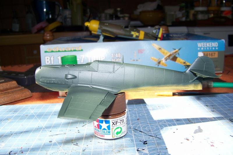 sur l' établi Bf 109 E3a 1/48 Eduard  Fini - Page 3 100_8364