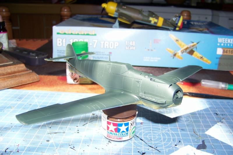 sur l' établi Bf 109 E3a 1/48 Eduard  Fini - Page 3 100_8365