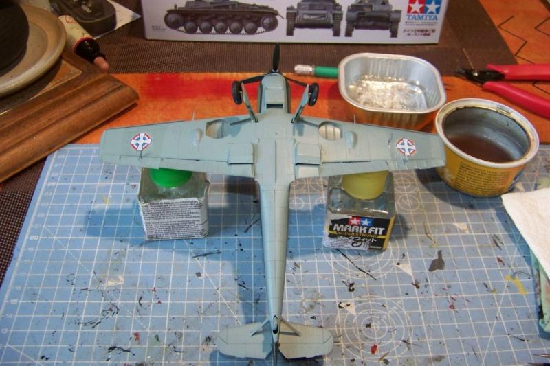 sur l' établi Bf 109 E3a 1/48 Eduard  Fini - Page 3 100_8418