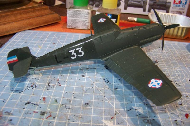 sur l' établi Bf 109 E3a 1/48 Eduard  Fini - Page 3 100_8420
